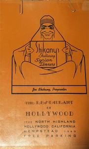 1942-05-06-Shikanys-Hollywood-Syrian-Restaurant-Menu