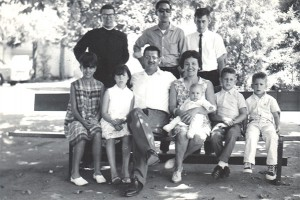 1965-Black-And-White-Everyone-Under-Oak-Tree