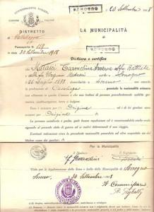 Carmelina-Anna-Matasci-Passport-Grandma-Sciarini