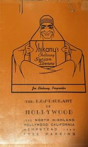 1942-05-06-Shikanys-Hollywood-Syrian-Restaurant-Menu