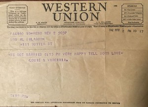 1942-May-2nd-903pm-Western-Union-Telegram-They-Eloped-